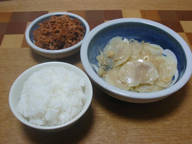 ジャガイモ炒め(なんとなく中華風)