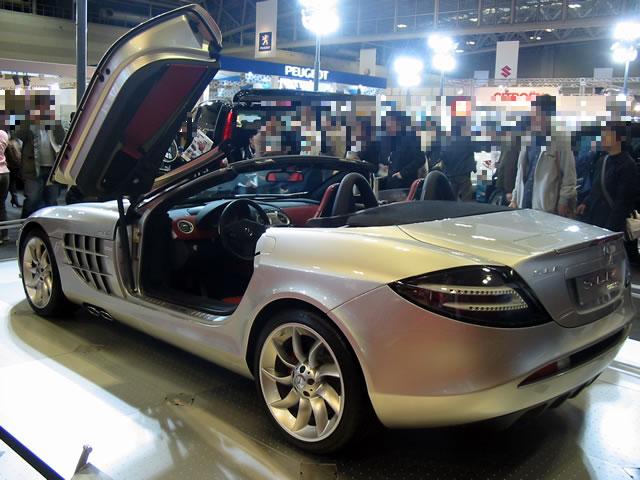 MERCEDES-BENZ SLR McLaren Roadster (後)