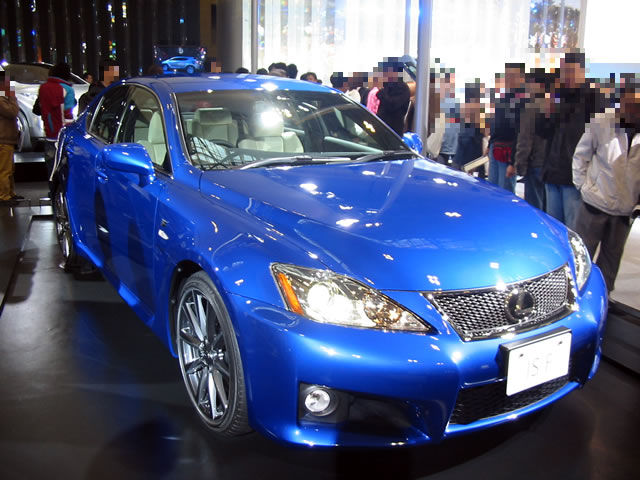 LEXUS IS F (前)