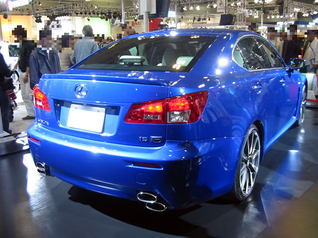 LEXUS IS F (後)