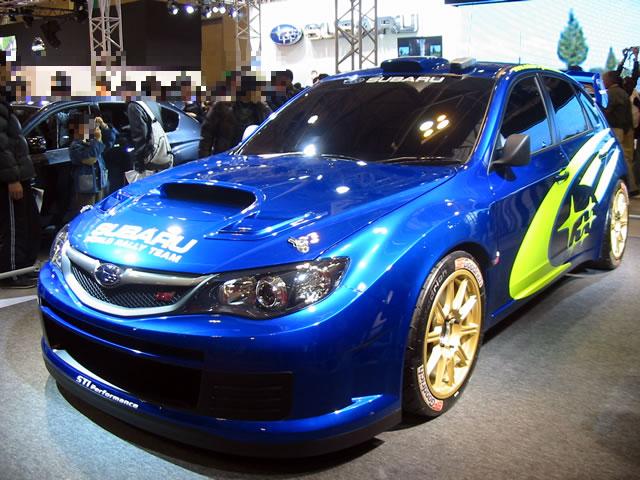 SUBARU WRC CONCEPT(前)