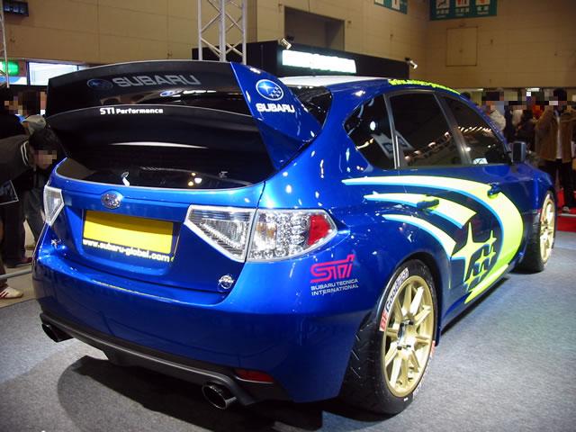 SUBARU WRC CONCEPT(後)