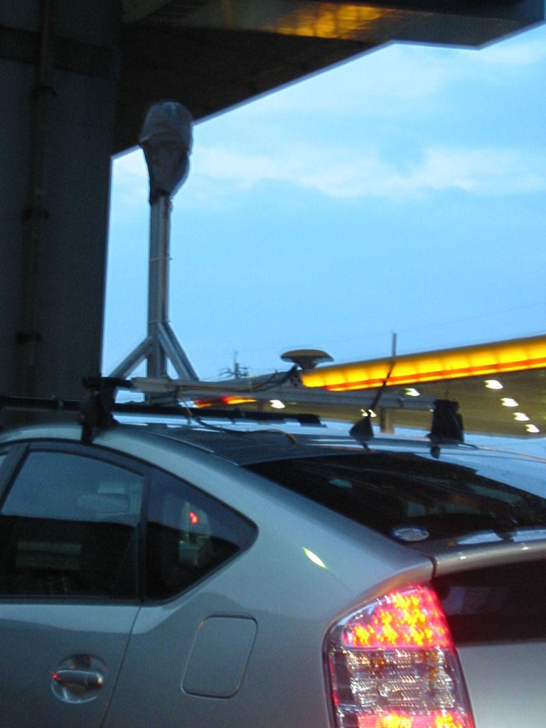 Googleマップ ストリートビュー 撮影車(?) in 名古屋