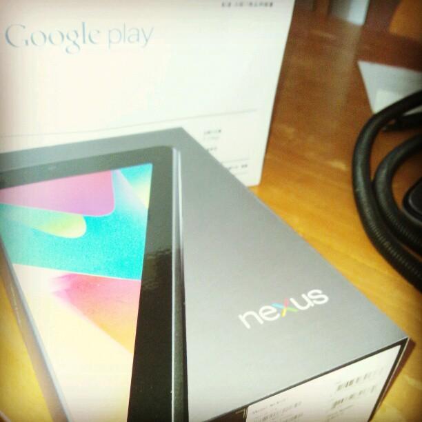 Nexus 7 パッケージ